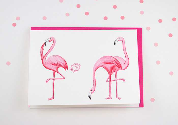 farting flamingoes