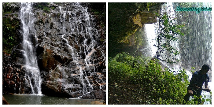 seri mahkota waterfall endau rompin