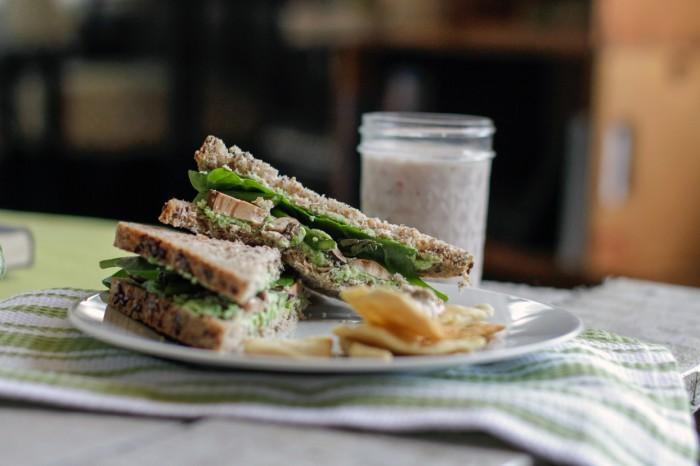runner sandwich