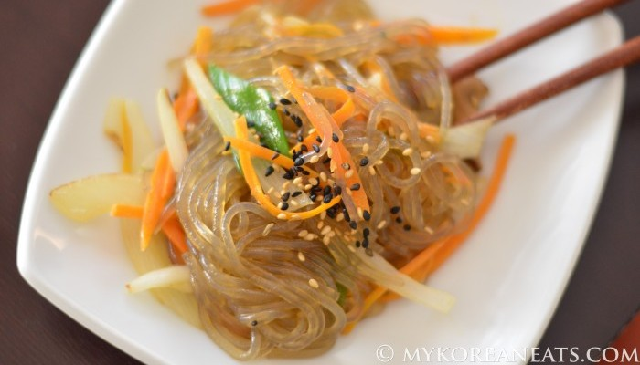 sweet potato noodles jap chae