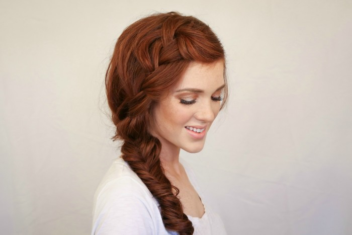 side braid workout