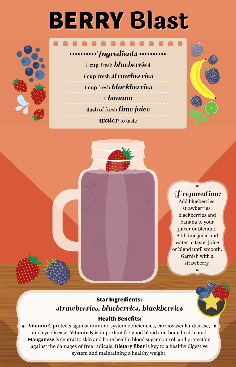 berry blast juice