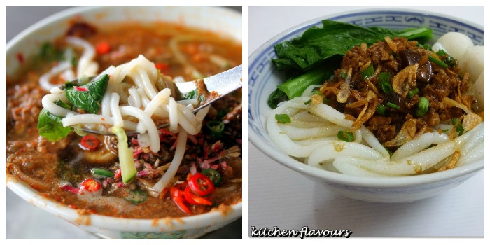 assam laksa and loh shee fun