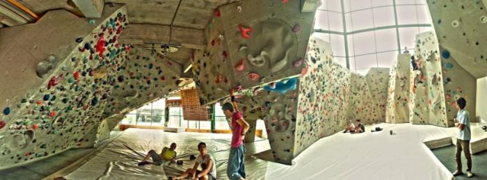 camp 5 climbing gym