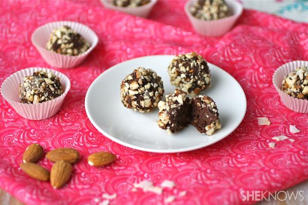 chocolate dates truffle