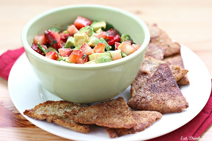 strawberry avocado salsa