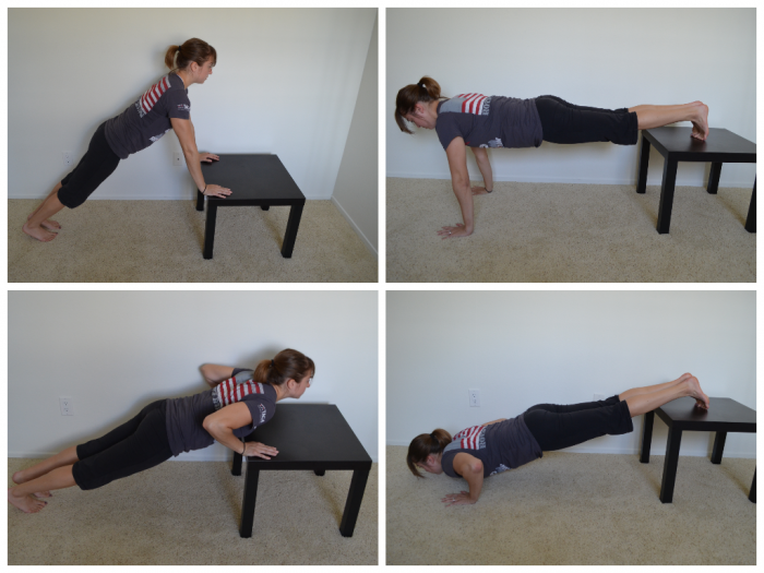 incline push-up