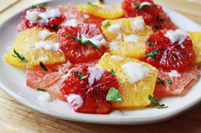 citrus salad flu