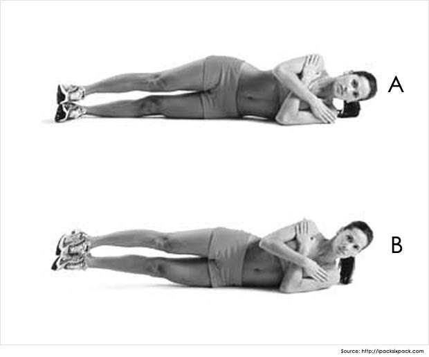 oblique static hold