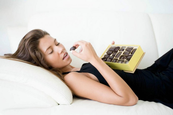 dark chocolate reduce stress