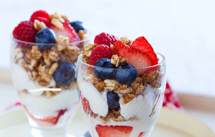 yogurt parfait snack